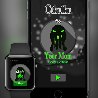 iOS/watchOS App: Cthulhu vs. Your Mom Gold